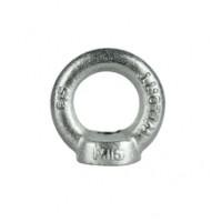 Metric Collared Eye Nut - Zinc Plated