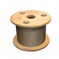 Stainless Steel Wire Rope - 7x19 - AISI316
