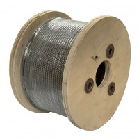 Compact Power Swage Wire Rope - 6x25 - Logging Rope