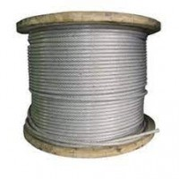 Galvanised Wire Rope - 7x7 - PVC Coated